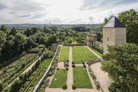 Visite du Jardin du château de Saint Bernard