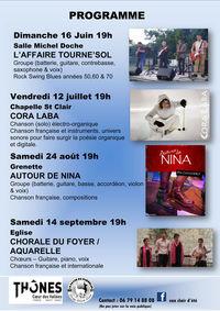 "Concert chorale ""Aquarelle"""