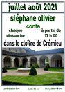 Contes dans le Cloître de Stéphane Olivier, conteur