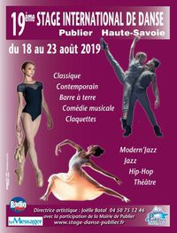 Stage international de danse