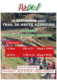 Trail de la Haute Azergues - HAT