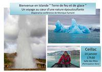 """Diaporama """"bienvenue en Islande terre de feu et de glace"""""""