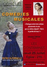 Concert avec Patricia Ponselle, mezzo coloratur de l'Opéra de Paris