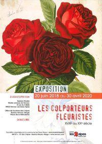Exposition Les Colporteurs Fleuristes du XVIIe au XXe siècle
