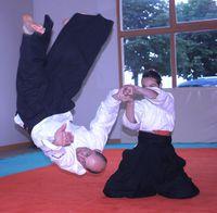 Démonstration d'Aikido Kobayashi