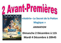 """Cinéma : avant-première """"Astérix - Le secret de la potion magique"""""""