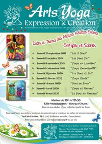Ateliers Arts Yoga Expression & Création