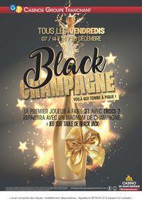 Les vendredis Black Champagne