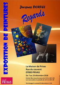 Exposition Regards de Jacques Dortel