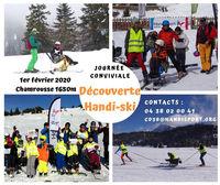 Raid de Gliss' - journée découverte handi-ski