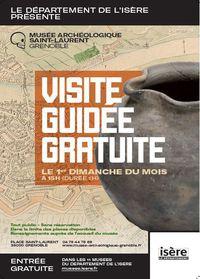 Visites guidées - Musée Archéologique Saint-Laurent