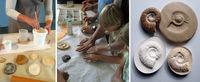 Atelier moulage de fossiles