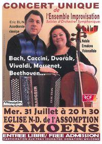 Concert unique de l'Ensemble Improvisation
