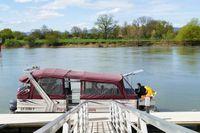Balade en bateau sur la Saône