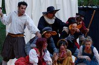 """Théâtre """" Capitaine Fracasse Noisettes """","""