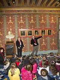 """Visite familiale """" A toi la vie de Château """" au château royal de Blois"""