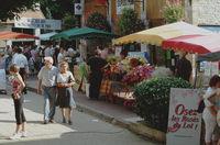 """Marché des Producteurs de Pays """"Bienvenue à la Ferme"""" à Souillac"""