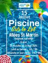 Piscine sur le Lot