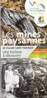Les mines paysannes - Exposition permanente du Centre Montagne