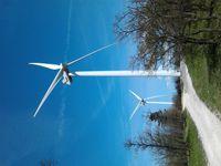 Visite commentée du parc éolien
