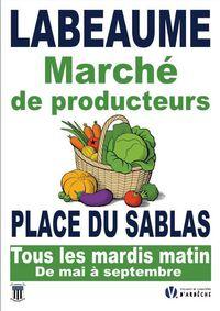 Marché de Producteurs à Labeaume