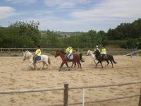 Camp d'équitation d'été sous tipi 6/8 ans