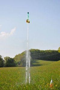 Construction de fusée à eau