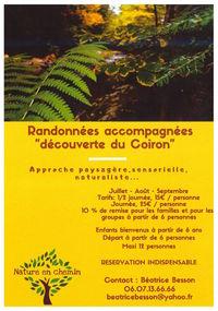 """Randonnées accompagnées """"Balcons et Gorges de la Louyre"""" avec Nature en Chemin"""