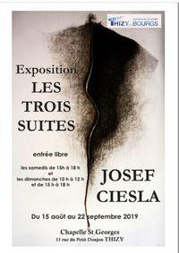 Chapelle Saint Georges - Thizy les Bourgs - Exposition Josef CIESLA