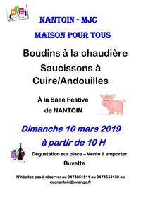 Boudins à la chaudière Saucissons à Cuire/Andouilles