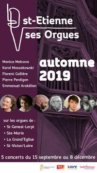 Concert - Saint Etienne & ses orgues