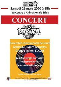 "Atelier et concert ""Rock"""