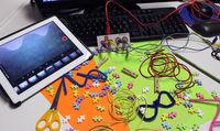 """Atelier de la bidouille - Création d'un court-métrage en """" stop-motion """" avec la tablette et initiation aux bases du montage vidéo"""