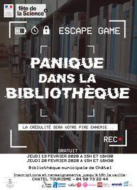 Panique à la bibliothèque