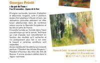 Exposition Georges Prévôt