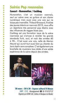 Soirée pop roannaise - Concert