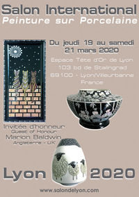 Salon international de peinture sur porcelaine