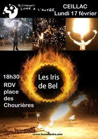 """Spectacle de feu """"Les Iris de Bel"""""""