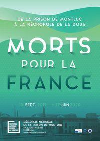 """Visite guidée de l'exposition Morts pour la France - De la prison de Montluc à la nécropole de La Doua"""""""""""