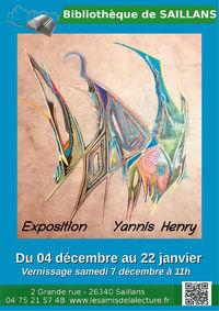Exposition de Yannis Henry