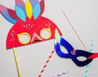 Atelier DIY : masque de carnaval