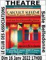Théâtre : Caboulot suprême et son lot d'impondérables
