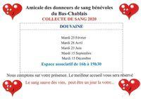 Collecte de sang 2020