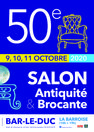 50E SALON ANTIQUITÉ ET BROCANTE