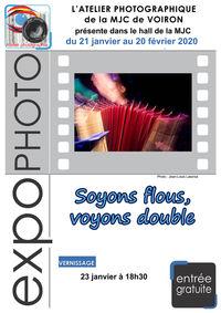 """Exposition photographique """"Soyons flous, voyons double"""""""
