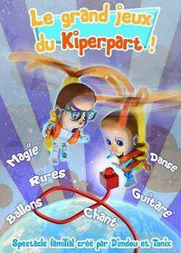 """Spectacle enfant """"Le grand jeu du kiperpart"""""""