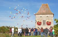 Les vendanges d'Antan au pigeonnier Jean de Blanc à Saint Astier de Duras