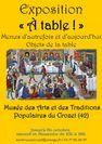 Exposition temporaire - À table!