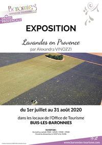Exposition Lavandes en Provence par Alexandra Vinozzi