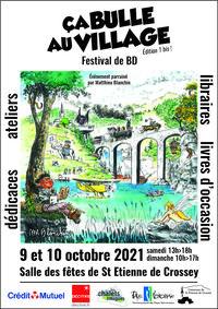 """Festival de BD """"Ça bulle au village"""""""